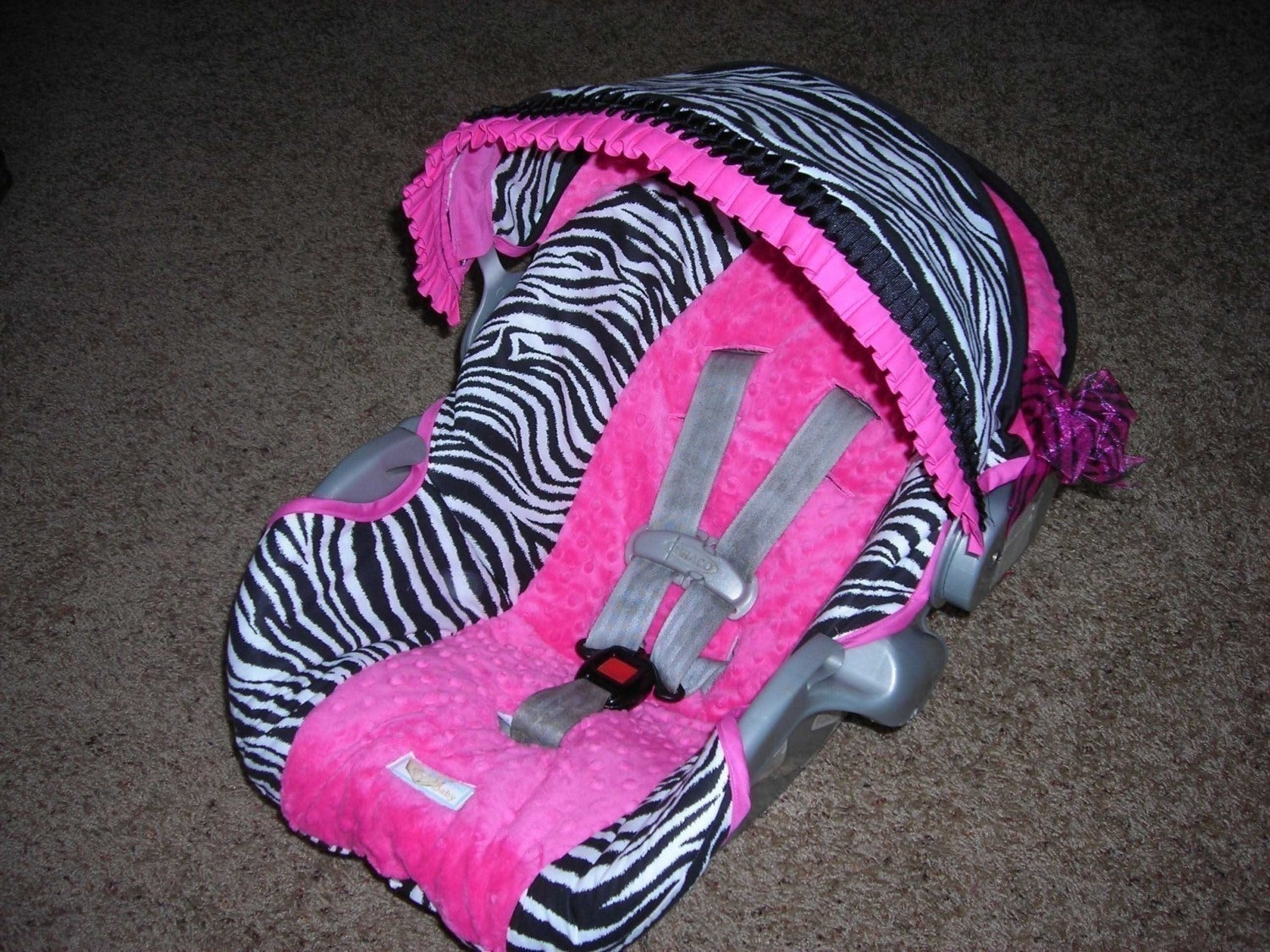 Infant Custom Car Seat Cover By BabyBelovedBoutique On Etsy