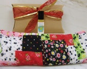 Aromatherapy Gift Set---Herbal Eye Pillow and Organic Perfume Roll-on Oil