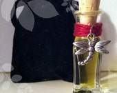 Frangipani Attar Perfume    3ml Perfume Bottle   Organic All Natural Fragrance Botanical Perfume