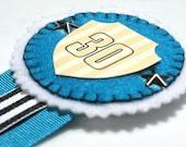 SALE - 30th birthday ribbon