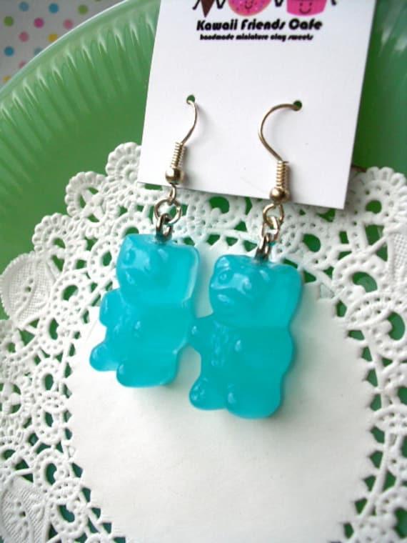 Gummie Bear Earrings FREE SHIPPING