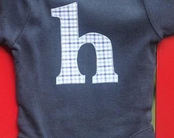 Custom Initial Bodysuit