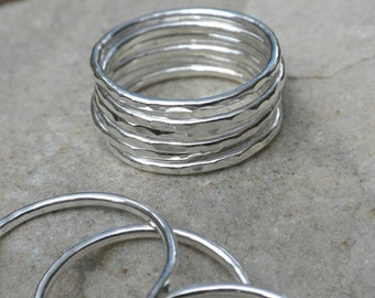 4 Mini Stackable Rings