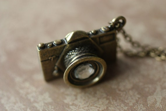 Camera Necklace - Photographer Gift