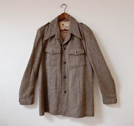 The Classic Mens Tweed Jacket Large SALE RESERVED