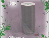 75 ft 6 inch Silver Tulle - Perfect for Tutus- Weddings- Wholesale Craft Supply