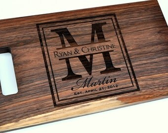 custom cutting board laser engraved x personalized wood cutting, Kitchen design