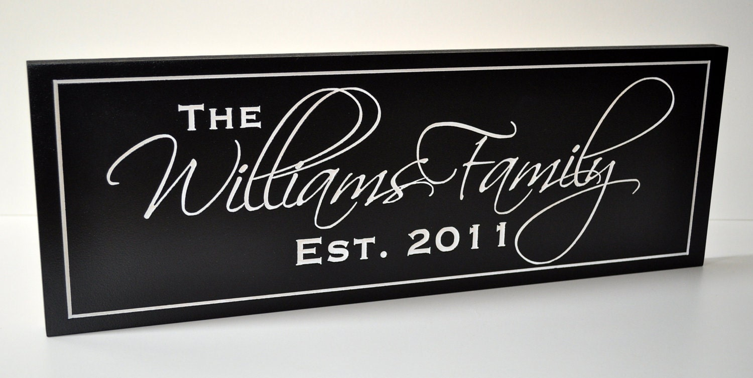Personalized Family Name Sign Plaque Last Name Sign 10x36. Canadian Healthcare System Overview. Telemarketing Lead Generation. Direct Sales Recruiting Tips. 2007 Honda Odyssey Service Schedule. Bachelor Of Science In Culinary Arts. Mac Screen Sharing Over Internet. How Many Years Of School For Dental Hygienist. B12 For Weight Loss Reviews Cabs In Dublin