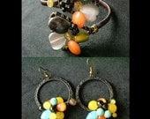 xxx Valentine's day Set xxx Sweet Fruity Bracelet Cuff and Earrings