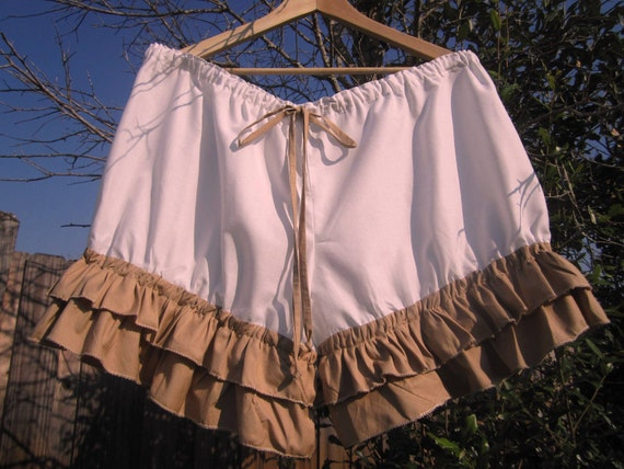 New Antique Bloomers with Double ruffles-Plus Size made just for u