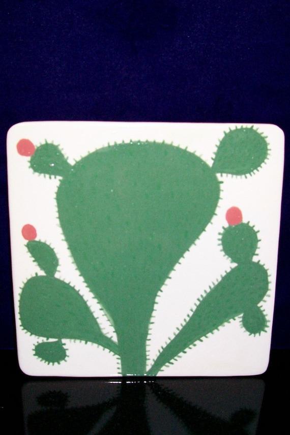 Trivet, Cactus, Cactus Hot Plate, Handmade, Hand Made