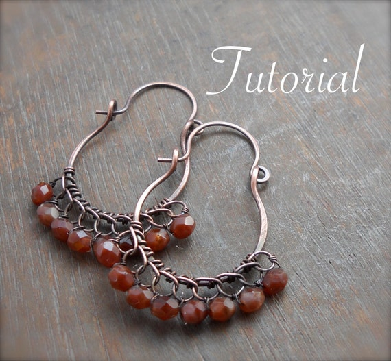 Moroccan Lace Earrings Tutorial