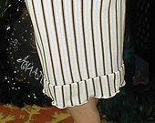 Stripey Pencil Skirt