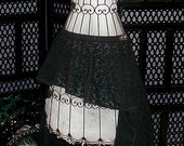 "Haunted Beauty Manx Skirt, 38"""