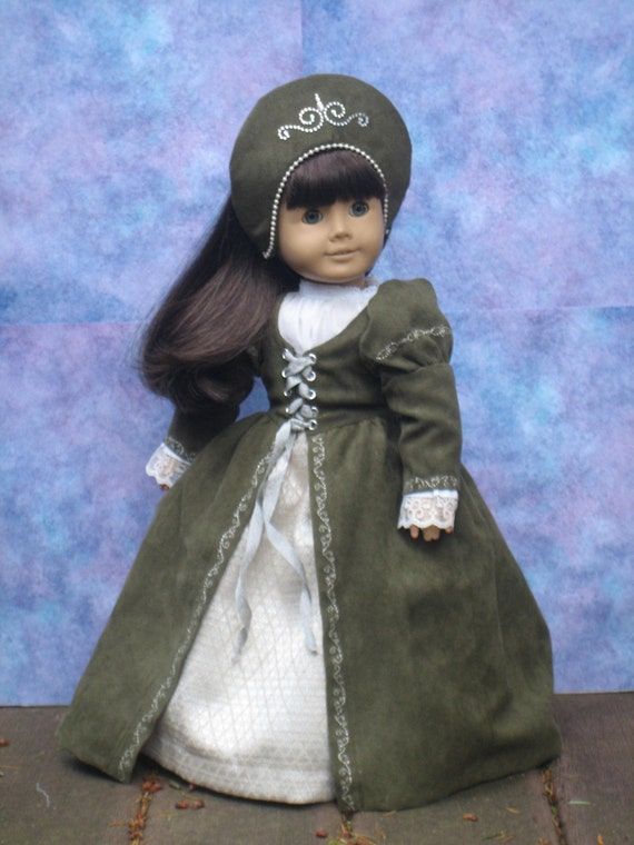 Tudor Outfit for your American Girl doll