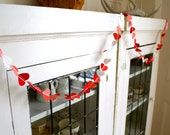 Pink and Red Heart Garland