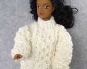 Irish Sweater for Barbie Doll