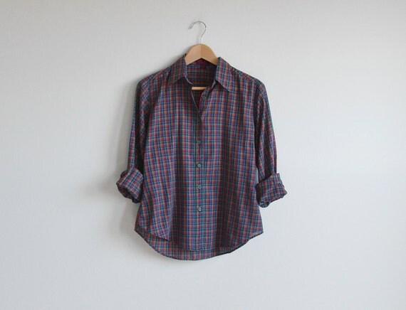 Vintage THE LIMITED plaid shirts.