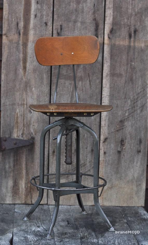 draftsman stool vintage