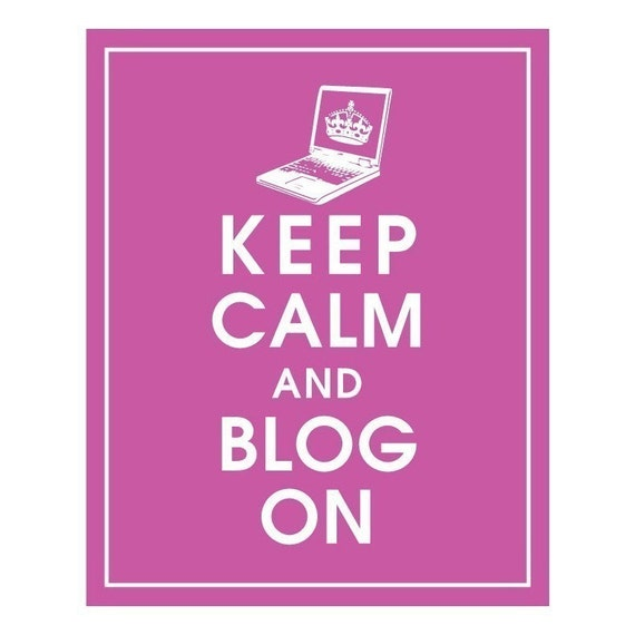 """Get Rid of your fear of blogging Once and For All"" and  just do it."