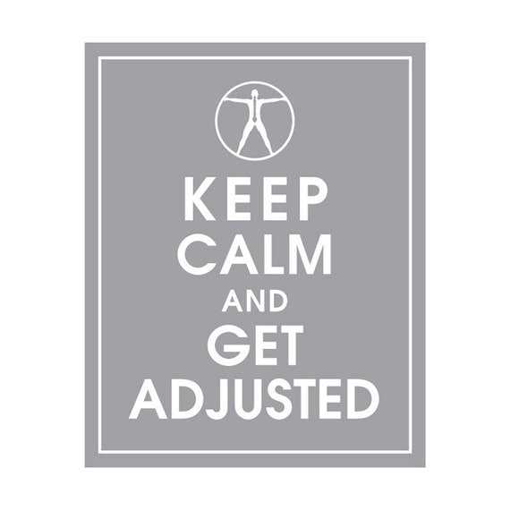 Keep Calm and GET ADJUSTED - Art Print (Featured in Dolphin) Keep Calm Art Prints and Posters