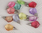 Brand New: Genie Stones Collection Silver Wrap assorted Tear Drop Embellishments