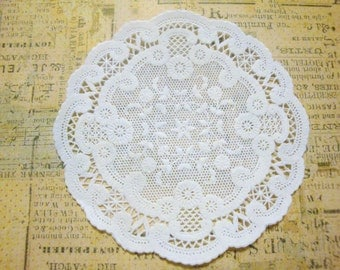 SMALL French Lace Paper Doilies, Pack of 50