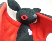 Love Bat for Valentines Day - made to Order