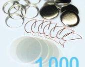 1000 - Standard 1 Inch Button Parts