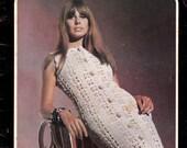 Vintage Knitting & Crochet Patterns Booklet 1960s