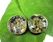 """1g, 0g, 00g,000g, 7/16, 1/2"""" Specialty Ear Plug Gauges for Stretched Ears 100% Hard Glass"""