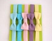 Blythe Clothes - Bow Headband - Pastel 5 pack
