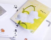 5 greeting cards CUSTOM LISTING for wuglyees