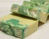 Jolly Green Apple - Olive Oil & Coconut Milk Cold Process Soap