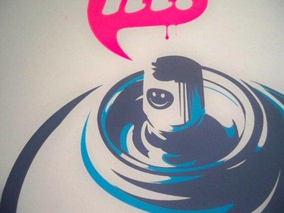 Hi. - Limited Edition Silkscreen Art Print
