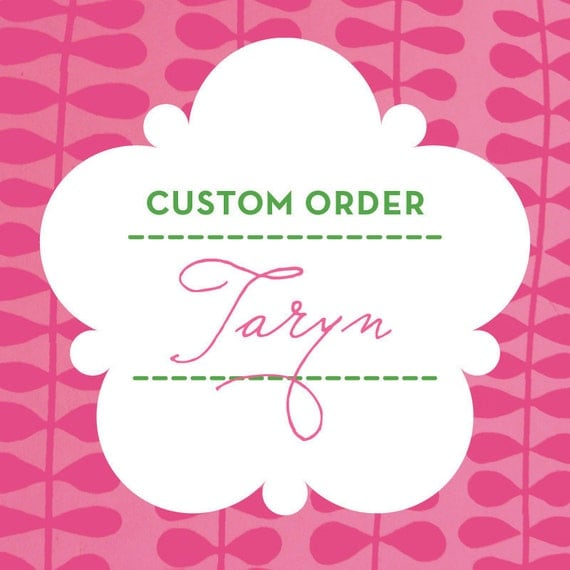 Custom Listing -- Taryn Only --200 Round Stickers - Little Heart, Initials and Date