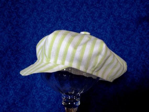 Baby Boy Hat Newsboy Striped