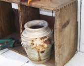 Antique Wood PRIM Storage Crate  Shelf Farmhouse prim Rustic