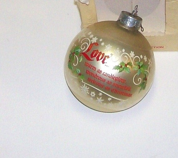 Vintage Christmas Ornament 1979 Hallmark Collectibles the