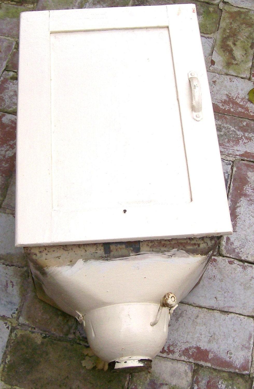 Salvaged Hoosier Cabinet Flour Bin Antique Flour Sifter Bin