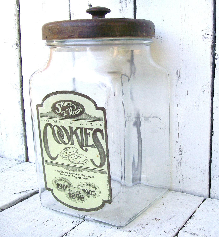 Vintage Glass Jar 57