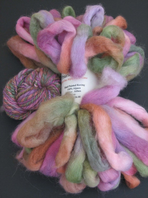 Althea Hand-Dyed Roving