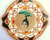 The Healing Tree - Altered Antique Plate