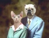 Earl and Betty, 50th Anniversary Portrait  - 8 X 10 Art Print