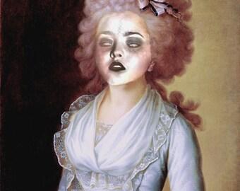 Zombie Contessa - Altered Image - 8 X 10 Art Print
