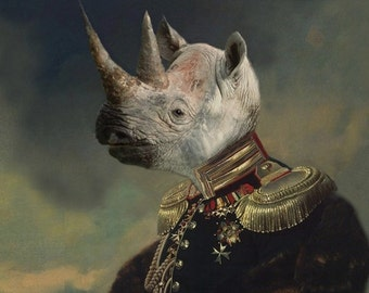 Lord Voluntus de Gaulle - 8 X 10 Fine Art Print