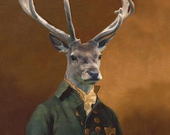 Charles van Dulce, 8th Duke of Elces - 18 X 24 Fine Art Print
