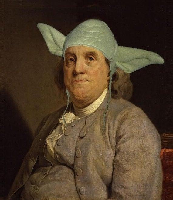 Yodamin Franklin - X-Large Fine Art Print 11X17
