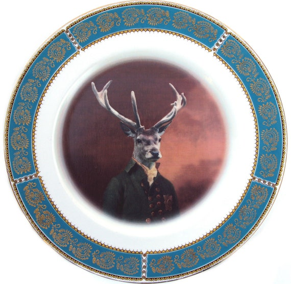Charles van Dulce, 8th Duke of Elces - Altered Vintage Plate