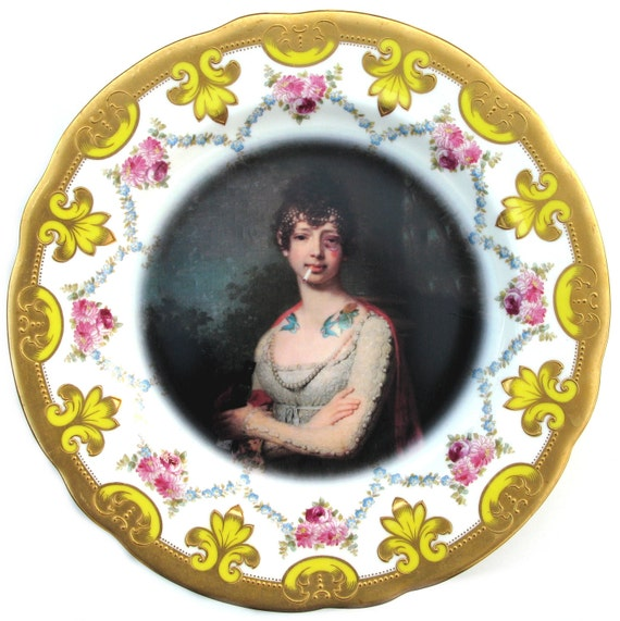 Katherine the Terrible - Altered Antique Plate